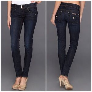 HUDSON | Collin mid rise skinny jeans flap 27 0292